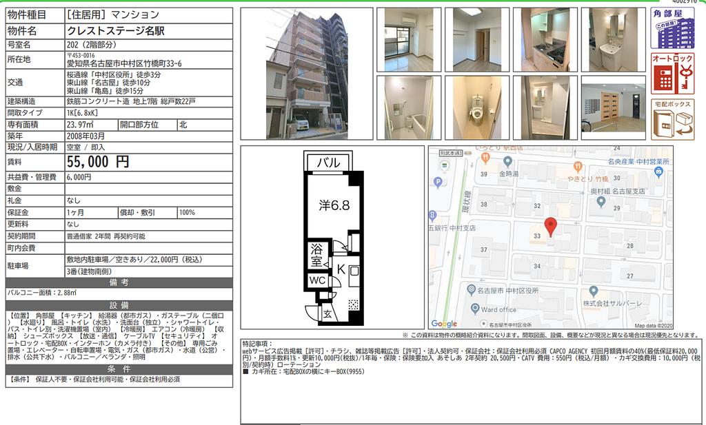 名古屋の中心地でひとり、都会暮らしを。